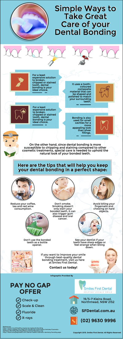 Simple Ways to Take Great Care of your Dental Bonding